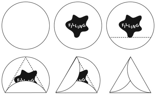 How to Fold Hamantaschen